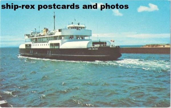 LORD SELKIRK (Northumberland Ferries) postcard (b)